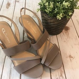 CL by Chinese Laundry Wedges size 9.5